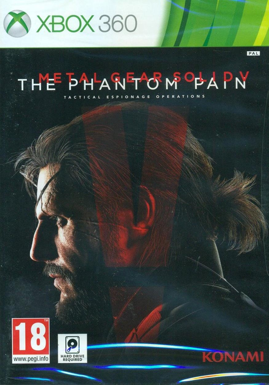 Metal Gear Solid V: The Phantom Pain (Day One Edition) XBox 360 Европа