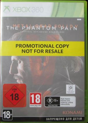 Metal Gear Solid V: The Phantom Pain (Promotional Copy)