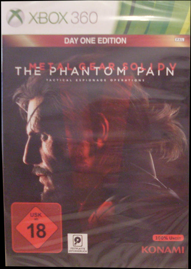 Metal Gear Solid V: The Phantom Pain (Day One Edition) XBox 360 Германия