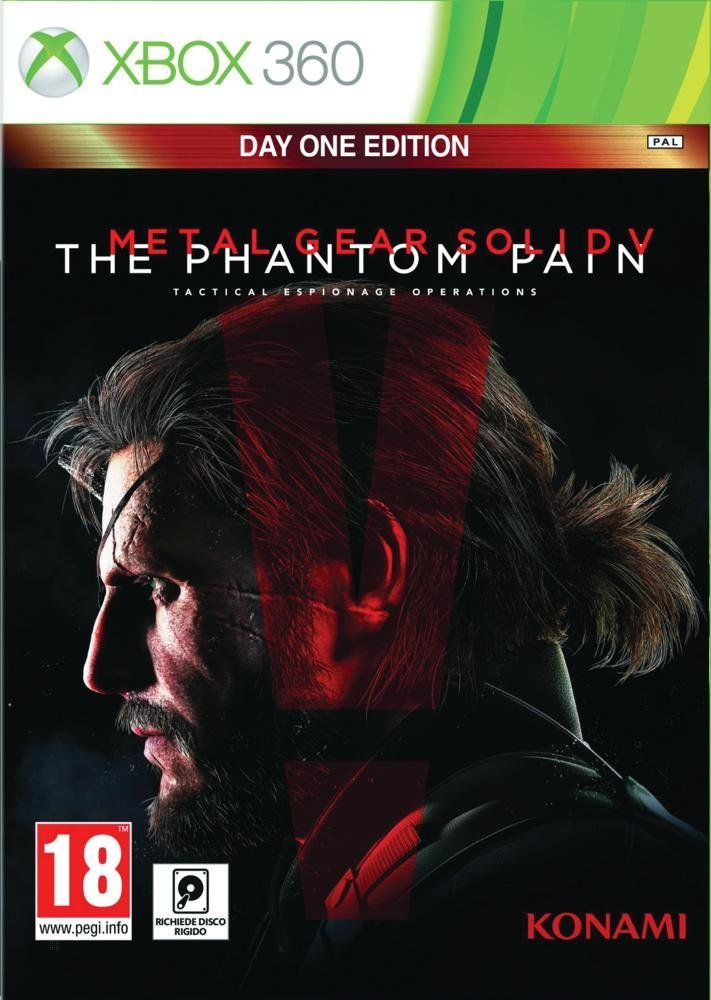 Metal Gear Solid V: The Phantom Pain (Day One Edition) XBox 360 Италия