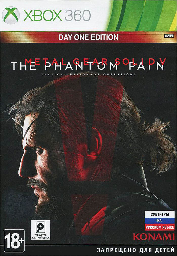 Metal Gear Solid V: The Phantom Pain (Day One Edition) XBox 360 Россия