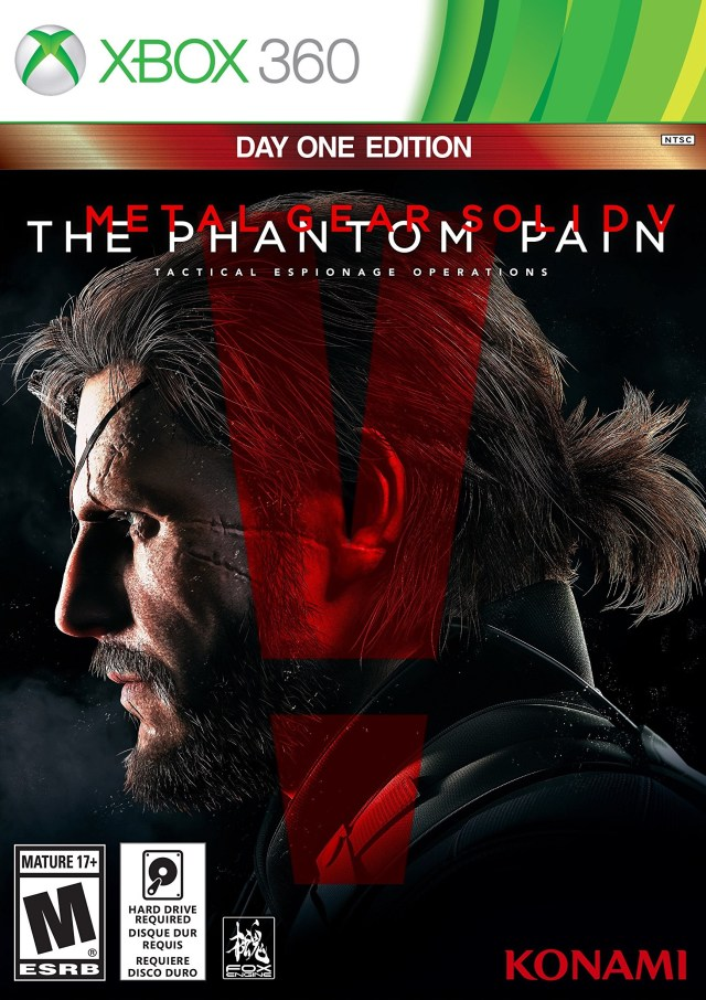 Metal Gear Solid V: The Phantom Pain Metal Gear Solid V: The Phantom Pain (Day One Edition) XBox 360 Америка