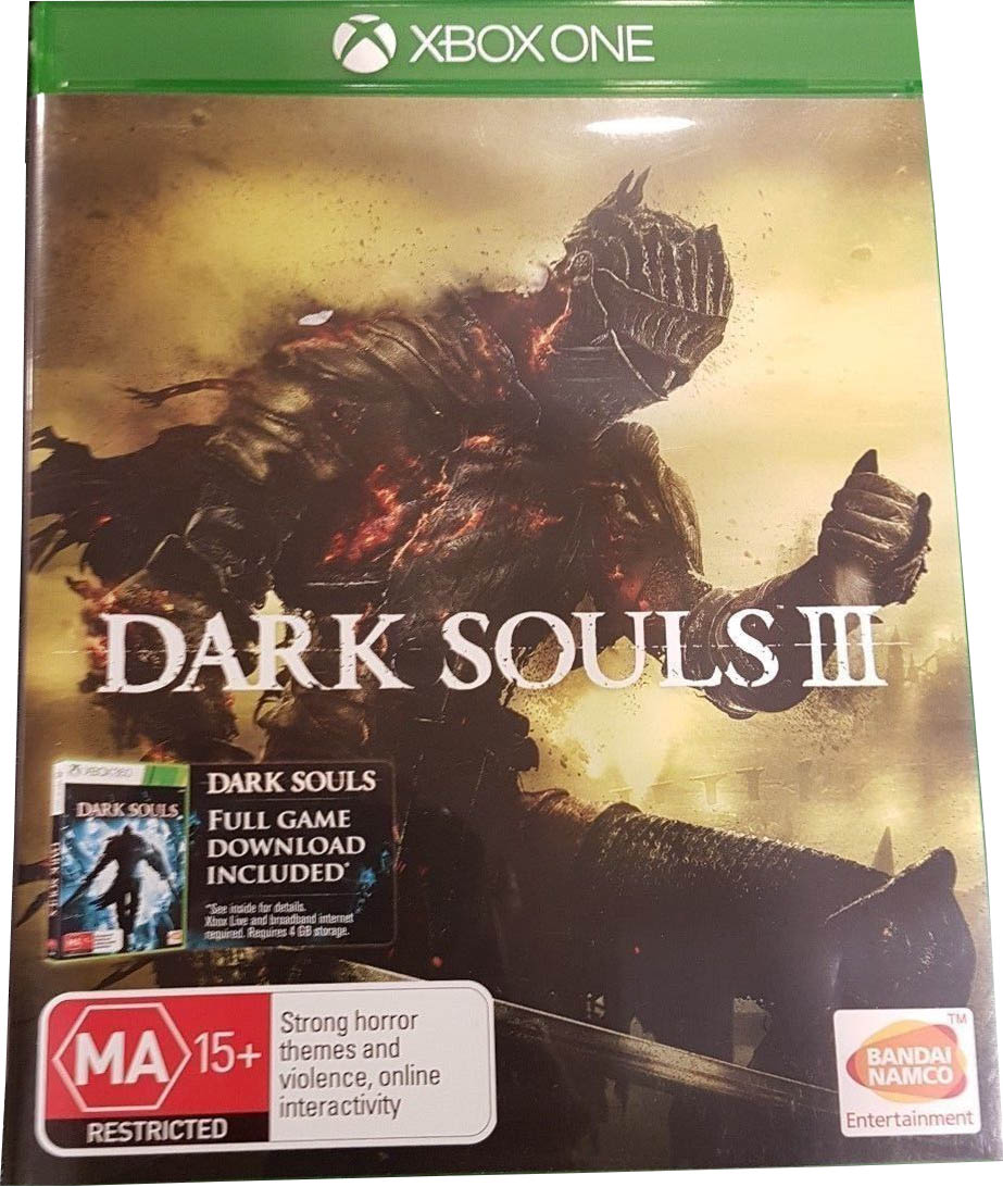 Dark Souls III Xbox One издание в Австралии