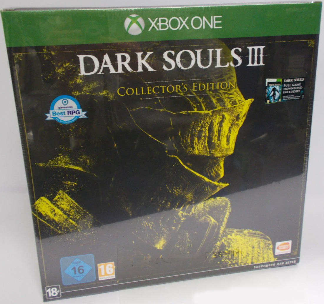 Dark Souls III (Collector's Edition) Xbox One издание в Европе