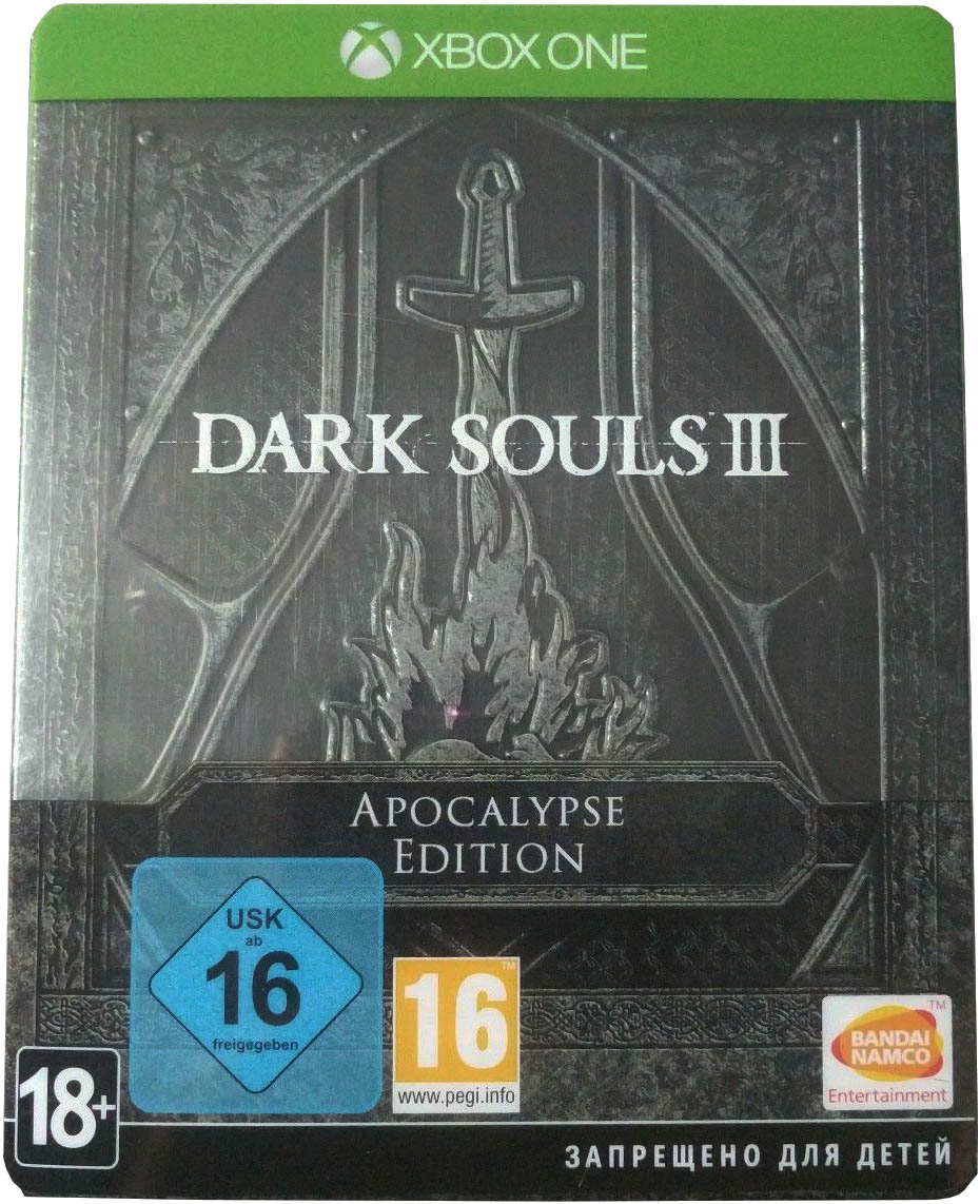Dark Souls III (Apocalypse Edition) Xbox One издание в Европе