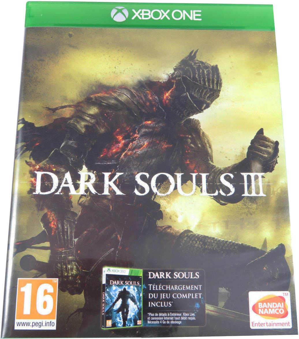 Dark Souls III Xbox One издание во Франции