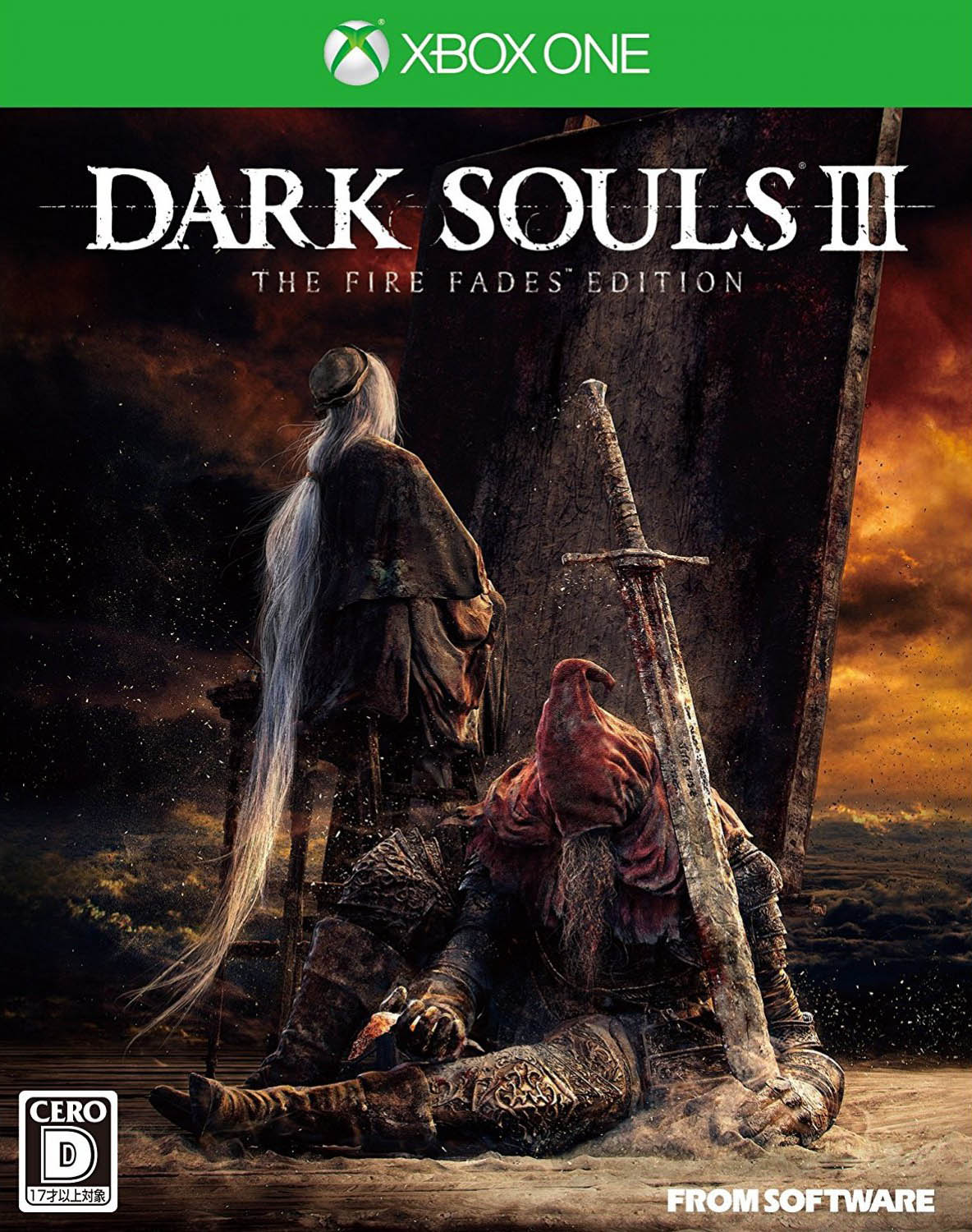 Dark Souls III: The Fire Fades Edition Xbox One Издание в Японии
