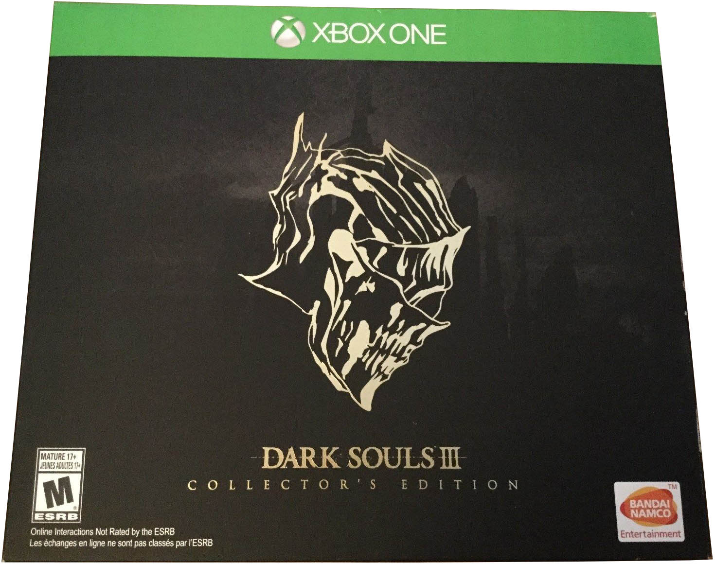Dark Souls III (Collector's Edition) Xbox One издание в Америке