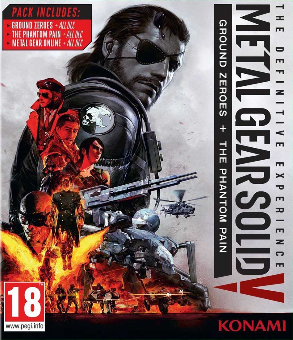 Metal Gear Solid V: The Definitive Experience Xbox One Европа