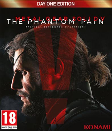 Metal Gear Solid V: The Phantom Pain (Day One Edition) Xbox One Европа