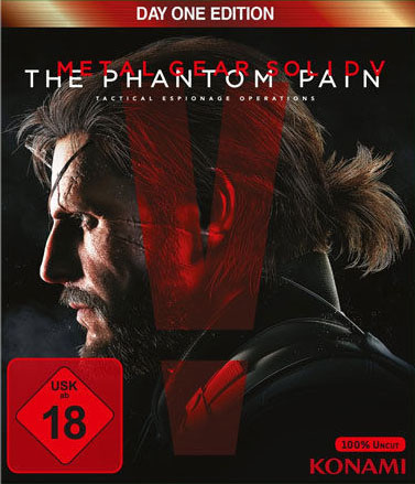 Metal Gear Solid V: The Phantom Pain (Day One Edition) Xbox One Германия