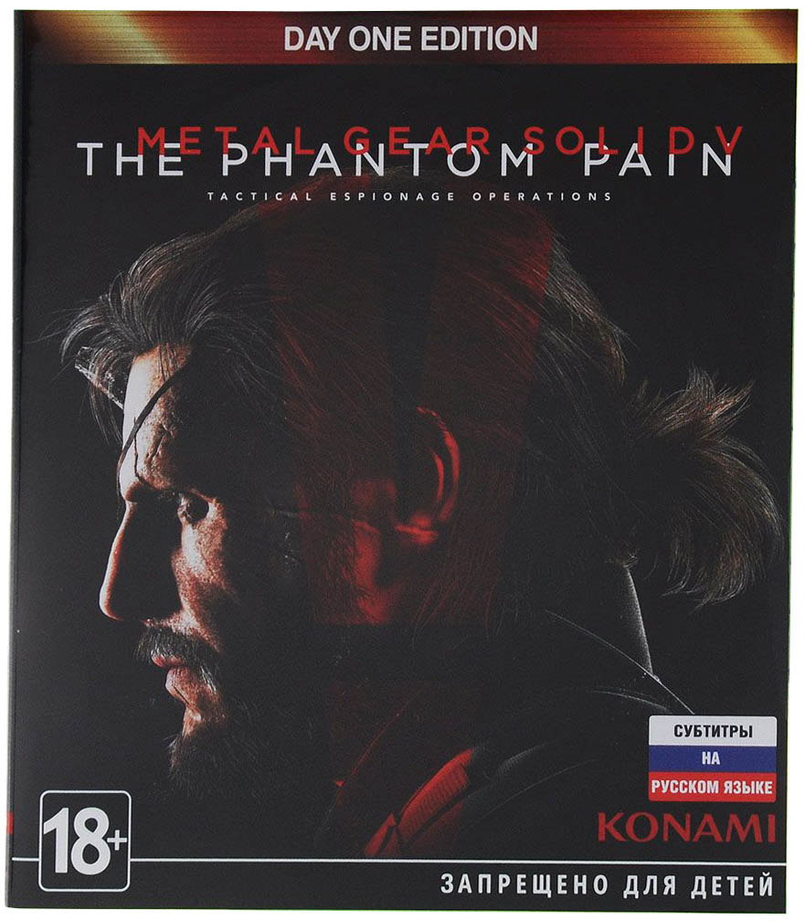 Metal Gear Solid V: The Phantom Pain (Day One Edition) Xbox One Россия