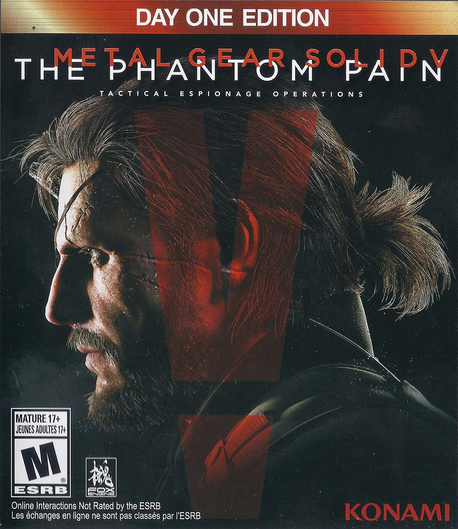 Metal Gear Solid V: The Phantom Pain (Day One Edition) Xbox One Америка