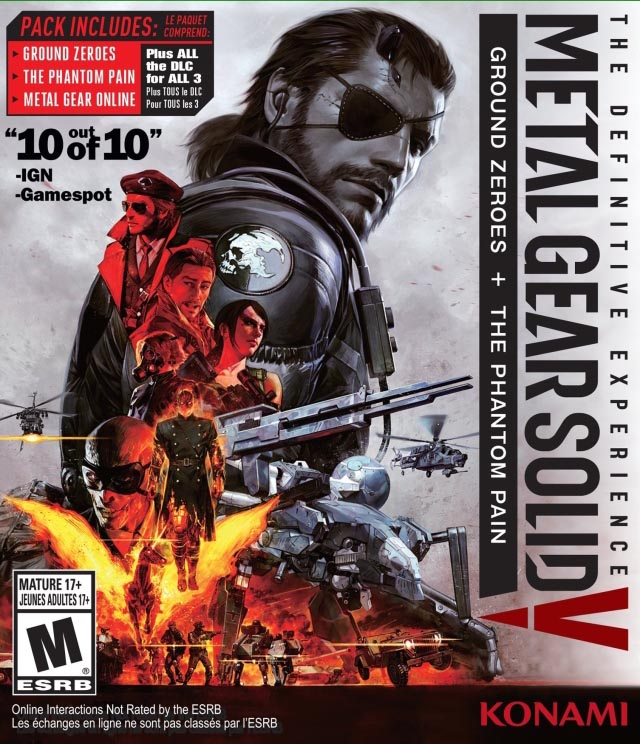 Metal Gear Solid V: The Definitive Experience Xbox One Америка