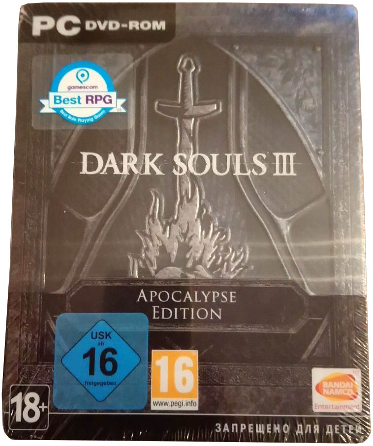 Dark Souls III (Apocalypse Edition) PC издание в Европе