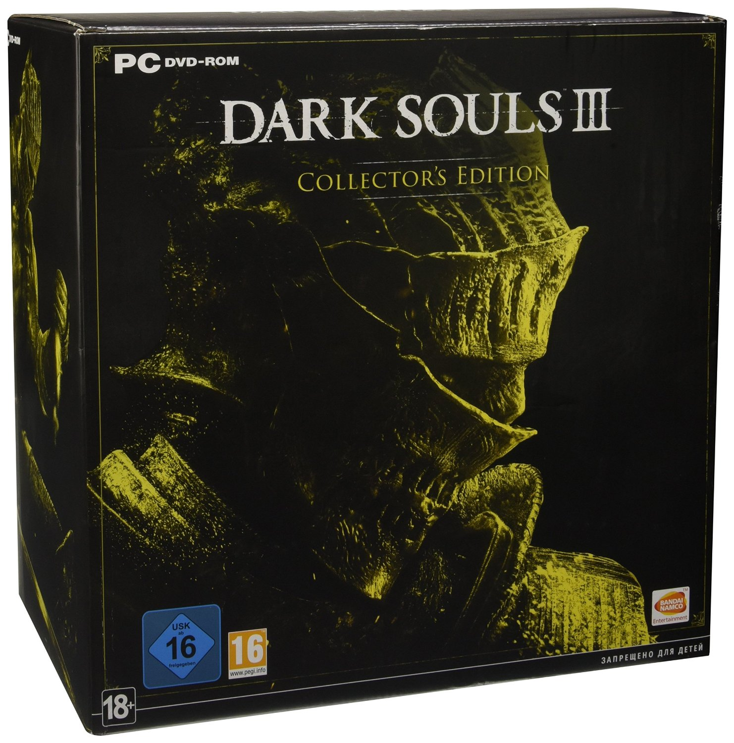 Dark Souls III (Collector's Edition) PC издание в Европе