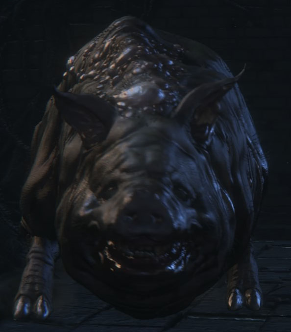 Bloodborne Вепрь-людоед (Maneater Boar)