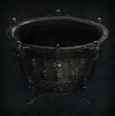 Bloodborne Нижняя Чаша Дальней Гробницы (Lower Hintertomb Chalice)
