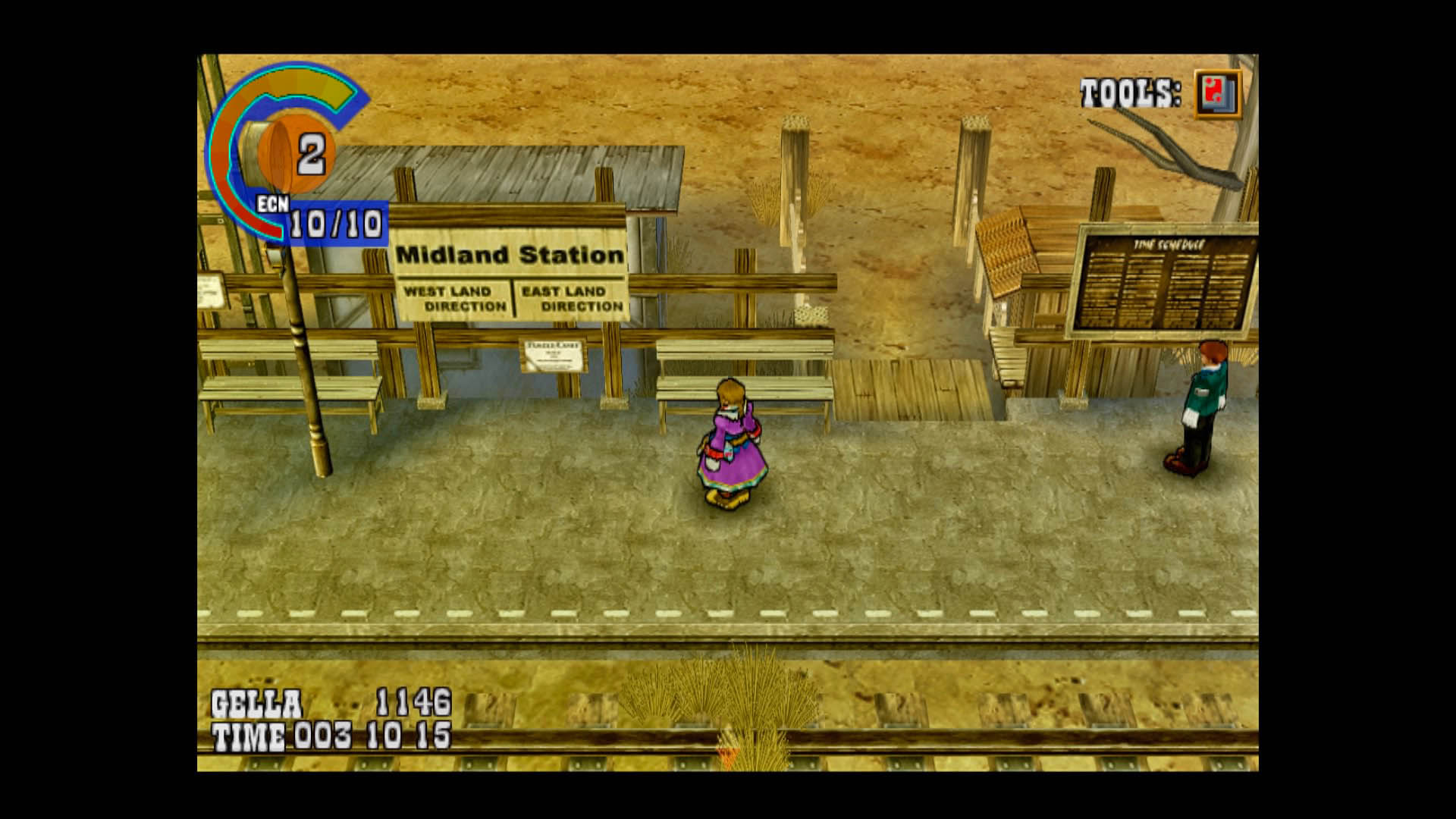 Wild Arms 3 Midland Station