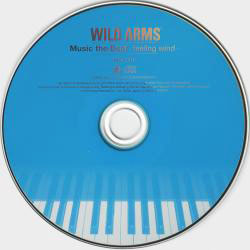 WILD ARMS Music the Best -feeling wind- Диск