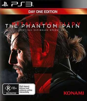 Metal Gear Solid V: The Phantom Pain (Day One Edition) PS3 Австралия