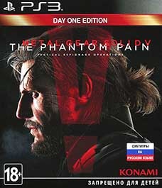 Metal Gear Solid V: The Phantom Pain PS3 Россия
