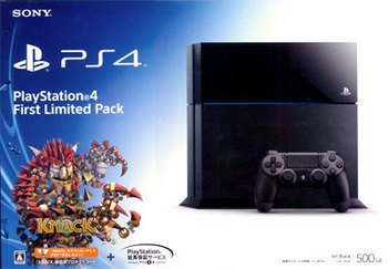 PlayStation 4 (First Limited Pack)