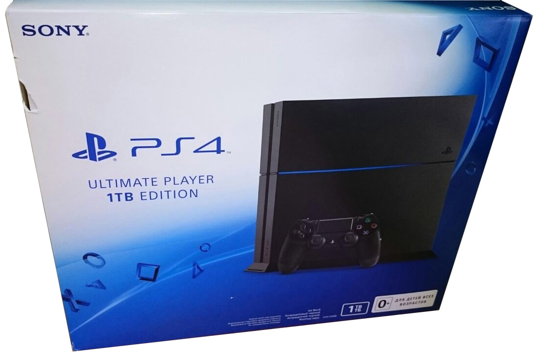 PlayStation 4 (1TB Edition) Россия
