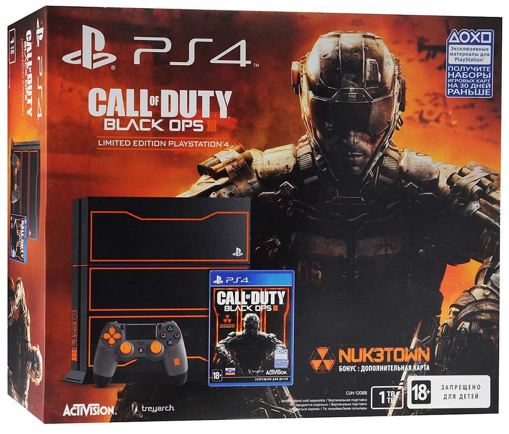 Call of Duty - Black Ops III (Limited Edition PlayStation 4) Россия