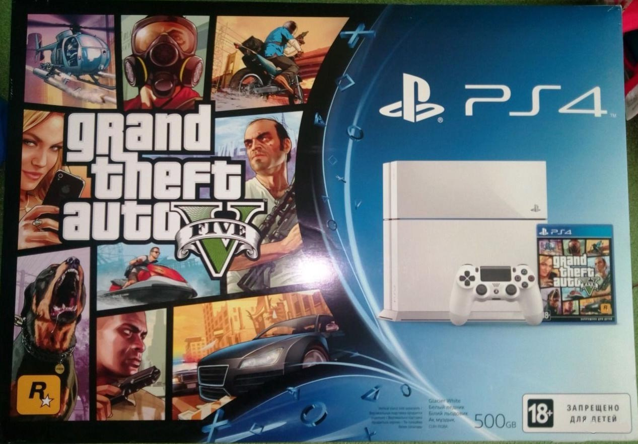 PlayStation 4 (Grand Theft Auto V)