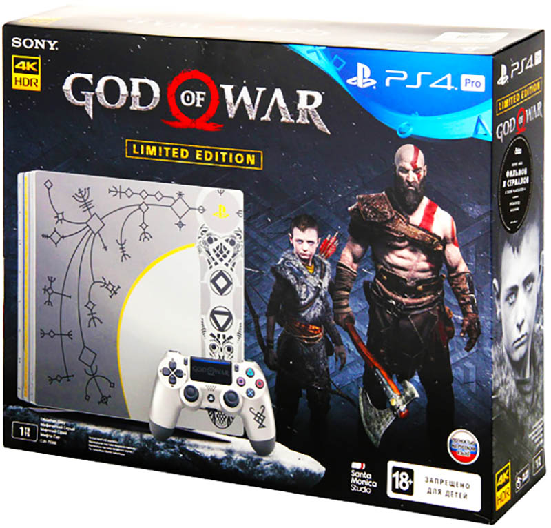 PlayStation 4 Pro Limited Edition (God of War) 1TB