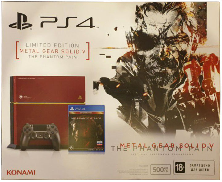 Metal Gear Solid V: The Phantom Pain (Day One Edition) PlayStation 4 Limited Edition Издание в России