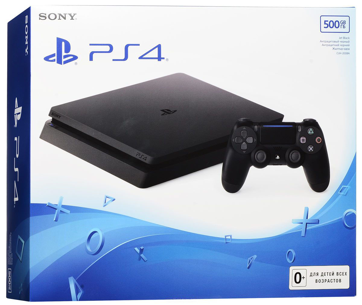 PlayStation 4 Slim (500 GB) Россия