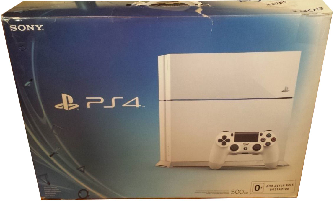 PlayStation 4 (White Edition) Россия