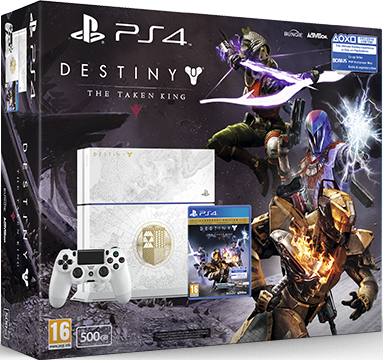 PlayStation 4 (Destiny: The Taken King) Европа