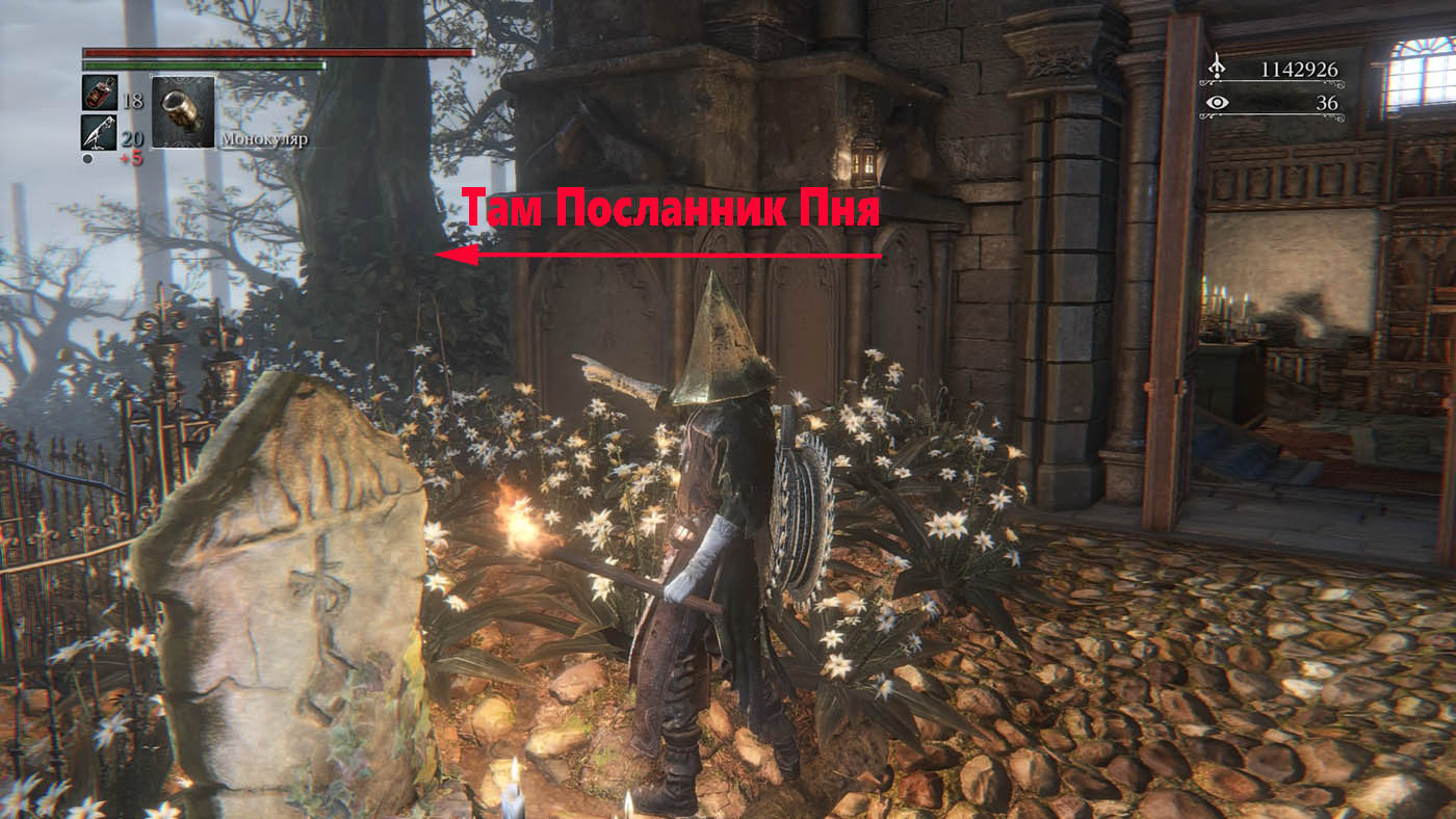 Bloodborne Посланник Пня (Stump Messengers)