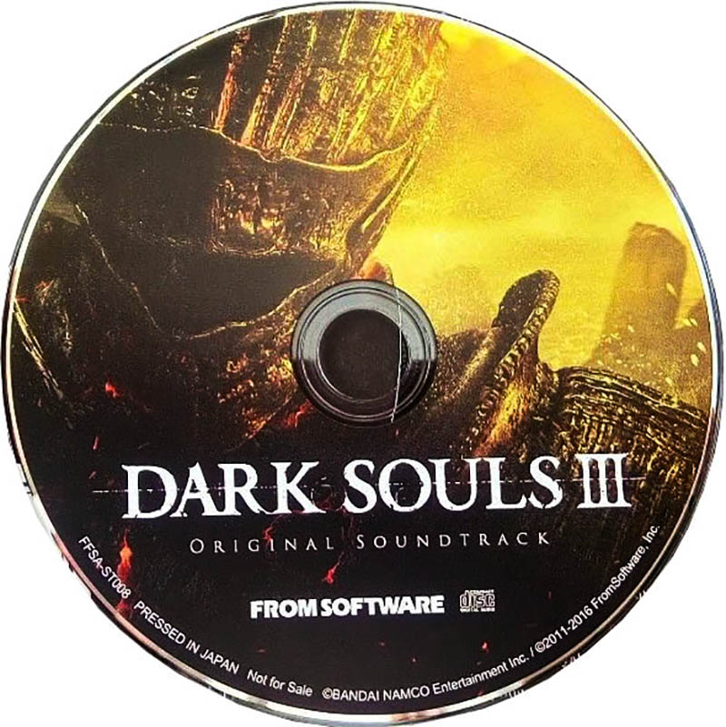 Dark Souls III Special Map & Original Soundtrack Диск