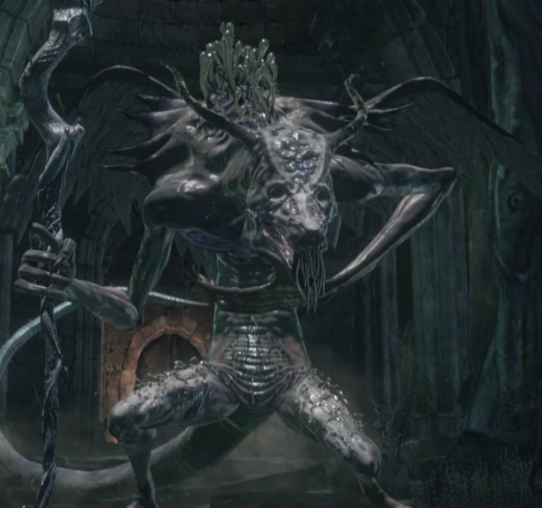 Dark Souls III Оцейрос, Снедаемый король (Oceiros, the Consumed King)