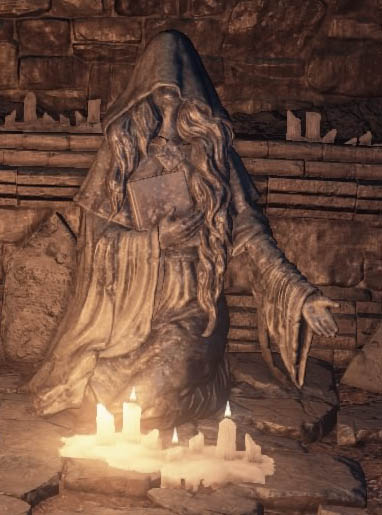 Dark Souls III Велка Богиня Греха (Velka the Goddess of Sin)