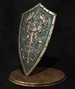 Dark Souls III Золотые Крылья (Golden Wing Crest Shield)