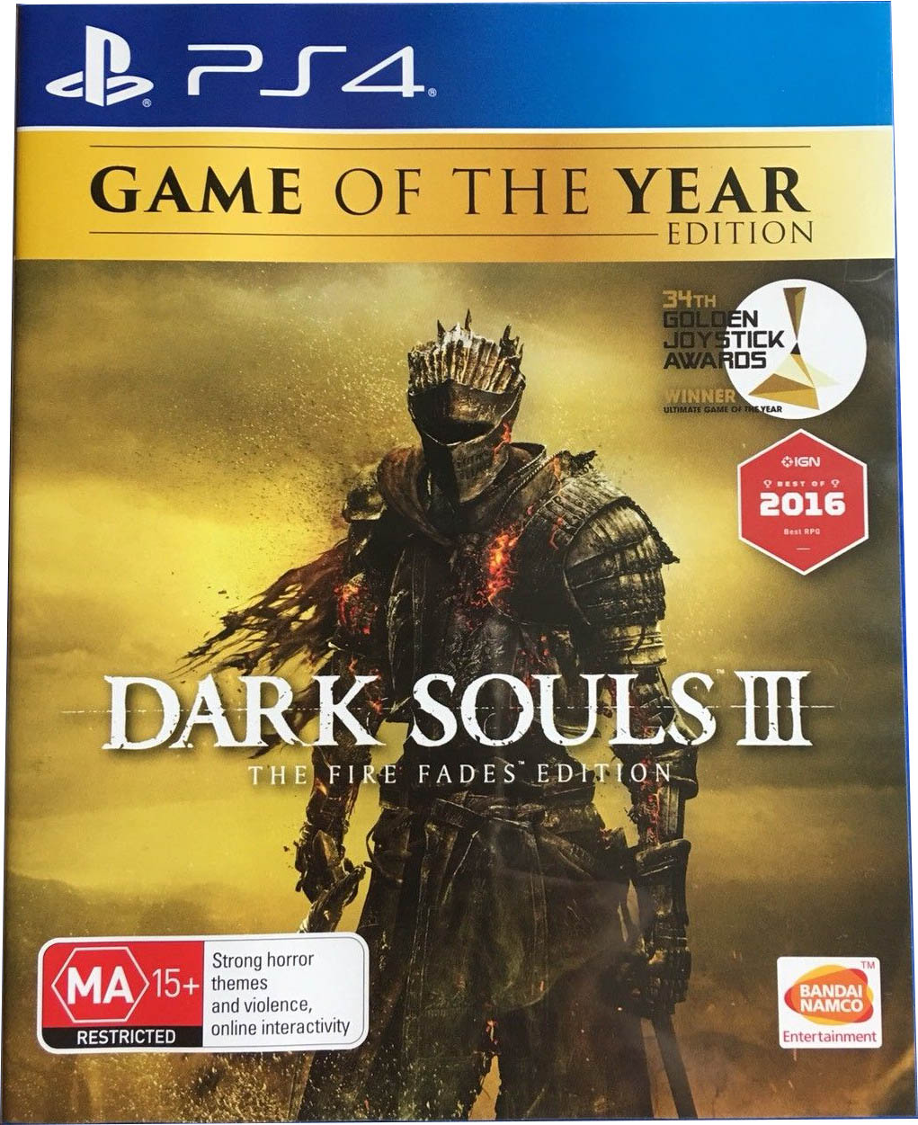 Dark Souls III: The Fire Fades Edition (Game of the Year Edition) Издание в Австралии
