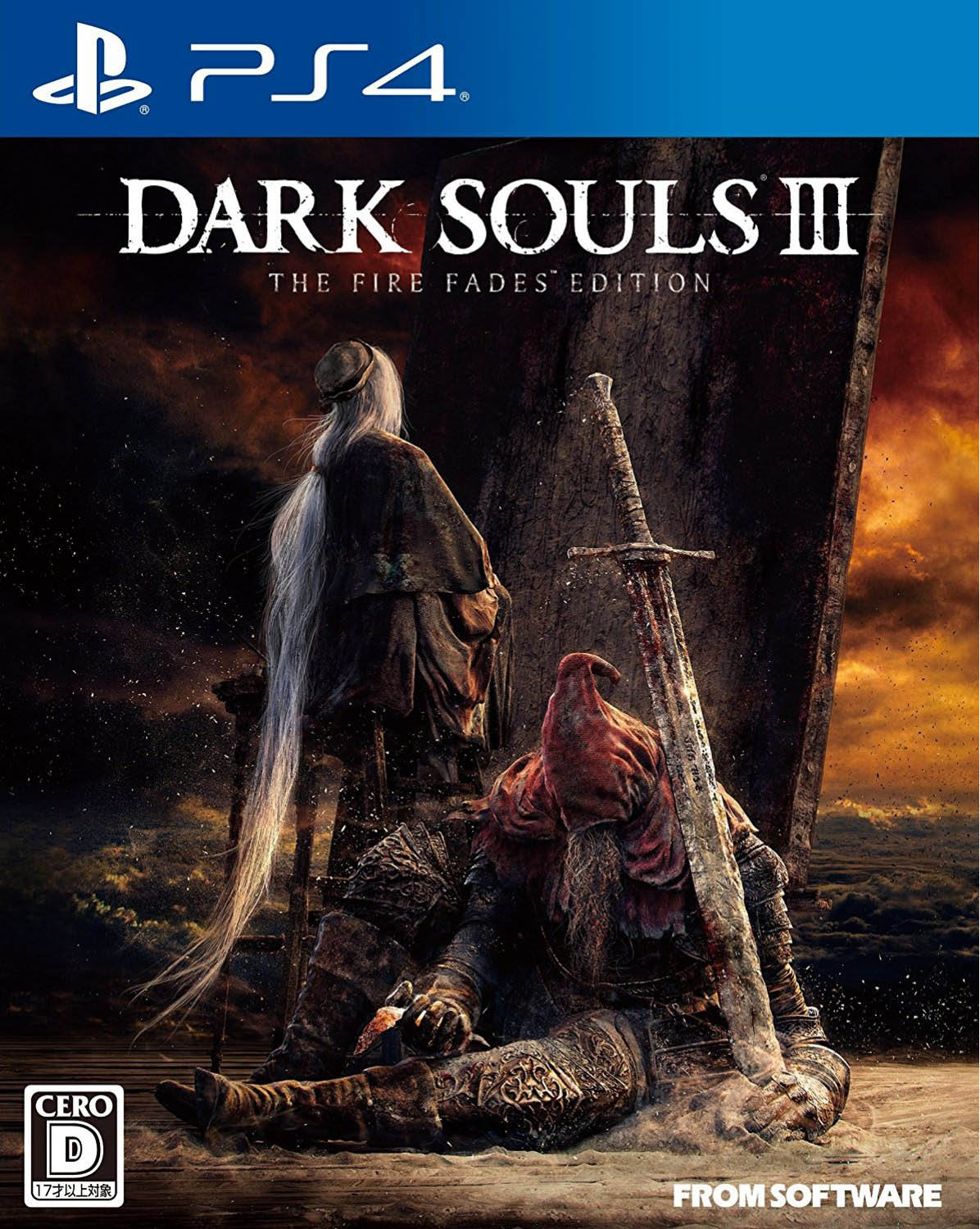Dark Souls III The Fire Fades Edition издание в Японии