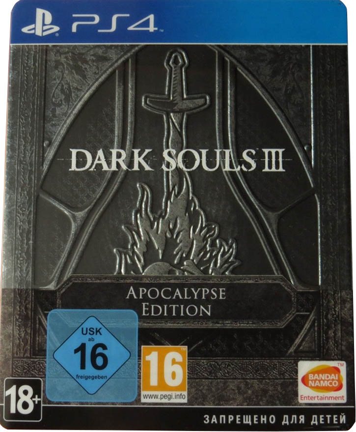 Dark Souls III (Apocalypse Edition) PlayStation 4 издание в России