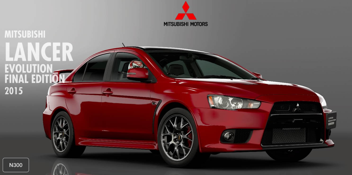 Gran Turismo Sport: Закрытая бета-версия Mitsubishi Lancer Evolution Final Edition `15