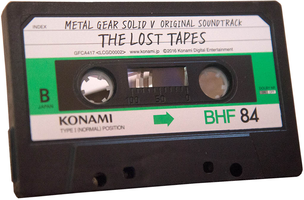 Metal Gear Solid V Original Soundtrack The Lost Tapes (Limited Edition) Аудио кассета
