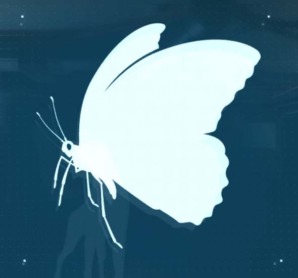 Metal Gear Solid V: The Phantom Pain Butterfly