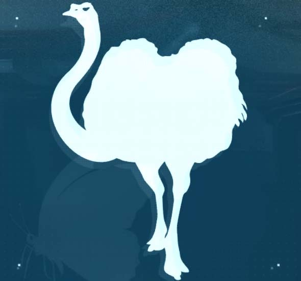 Metal Gear Solid V: The Phantom Pain Ostrich