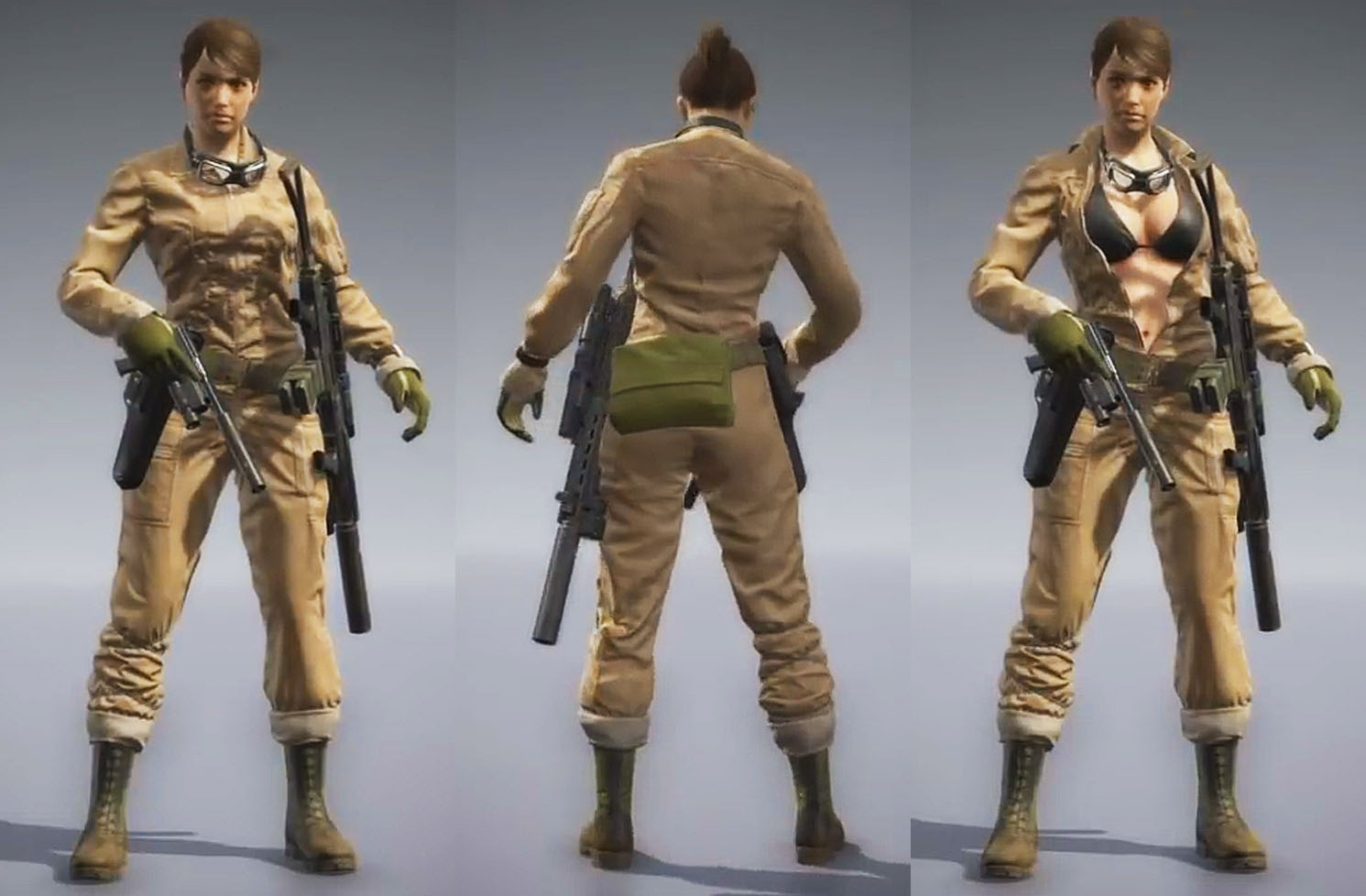 Metal Gear Solid V: The Phantom Pain Форма - Комбез (Ева) Jumpsuit (Eva)