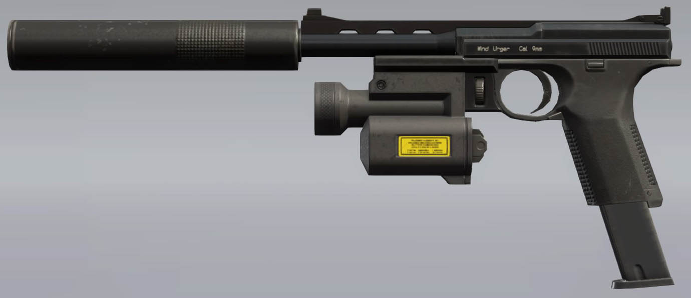 Metal Gear Solid V: The Phantom Pain WU S.Pistol 9
