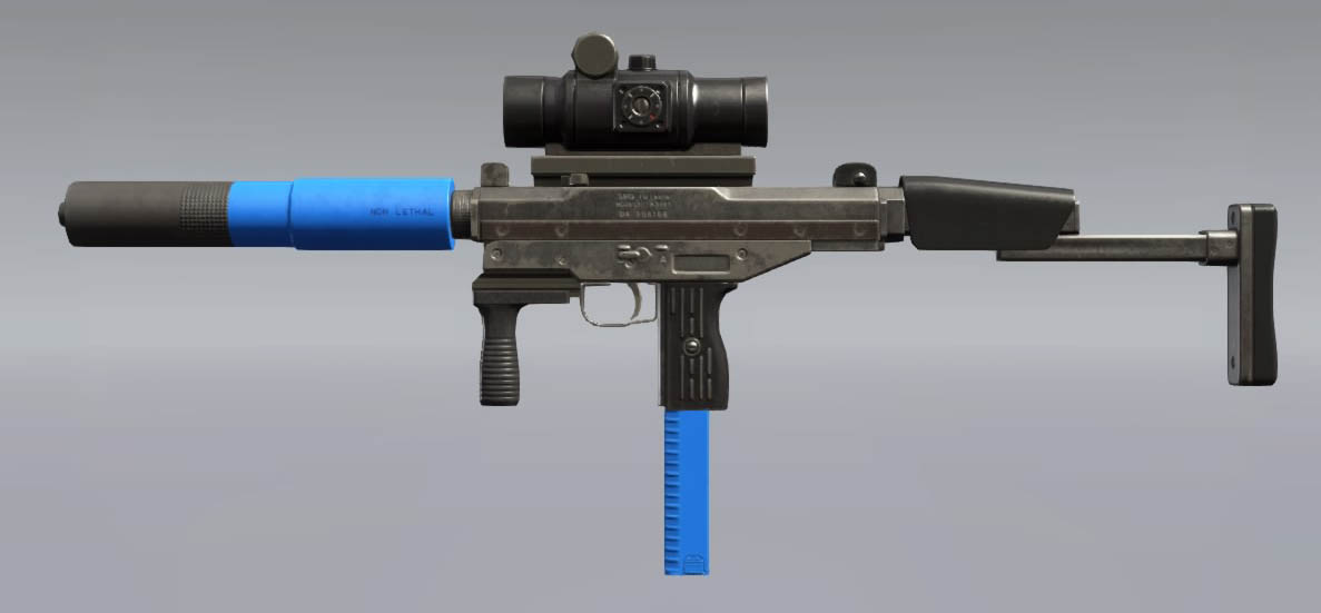Metal Gear Solid V: The Phantom Pain Riot SMG